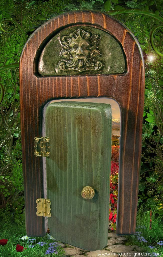 17 best images about green doors on pinterest alienware for Fairy front door