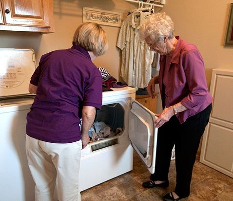 We can wash, dry, fold, iron and put away clothing, bed linens, and towels for our clients. This in home care service can save time and physical exertion—proving to be beneficial for people who have trouble with mobility, experience joint pain, or tire easily.