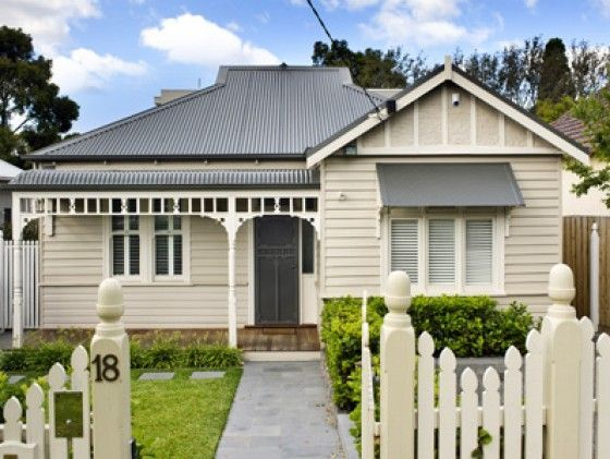 weatherboard exterior colour schemes windspray - Google Search