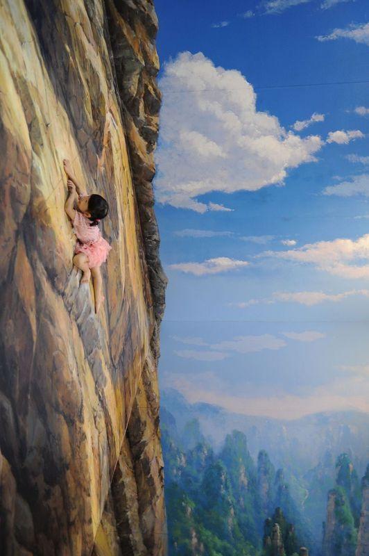 Mountain climb #3D
