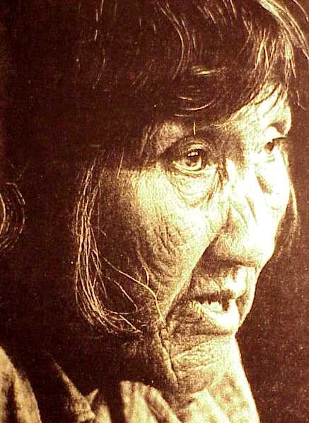 the last picture of the last indian of the Ona tribe...Tierra del Fuego Argentina
