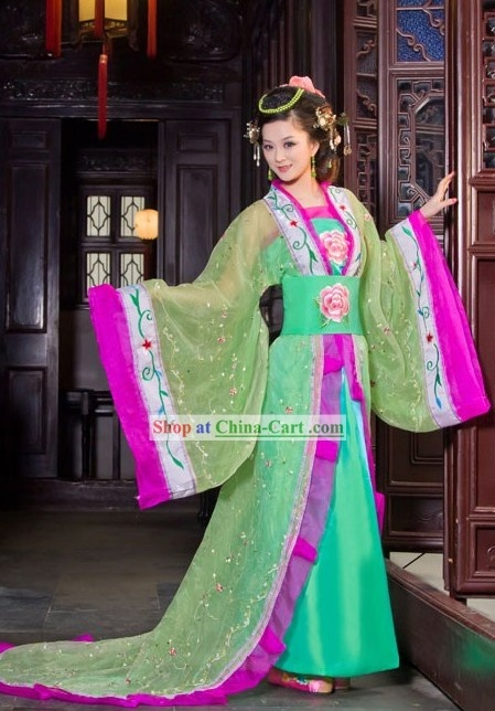 Chinese style dresses old fashioned