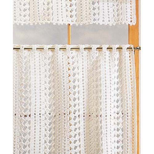 631 best images about cortinas crochet on pinterest for Decoracion cortinas