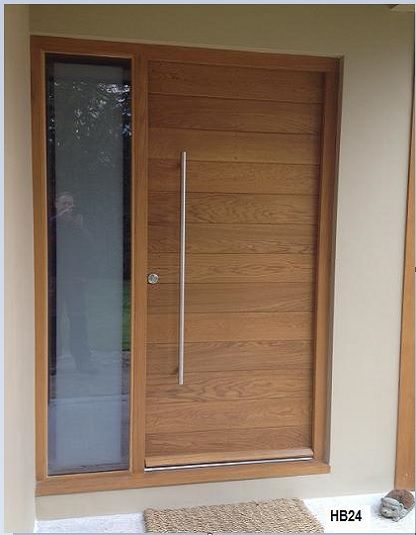 Best 25 contemporary doors ideas on pinterest for Wooden entrance doors
