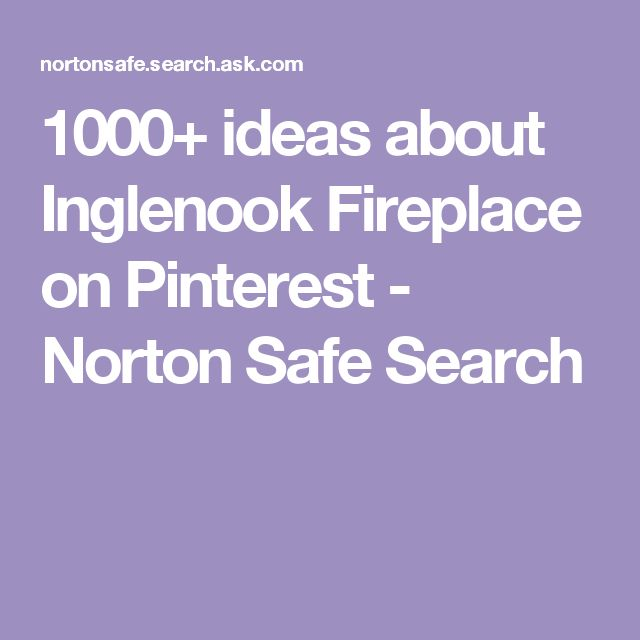 1000+ ideas about Inglenook Fireplace on Pinterest - Norton Safe Search