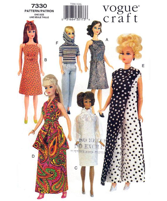 De 559 bästa sewing-bilderna på Pinterest | Vintage barbie, Ken doll ...