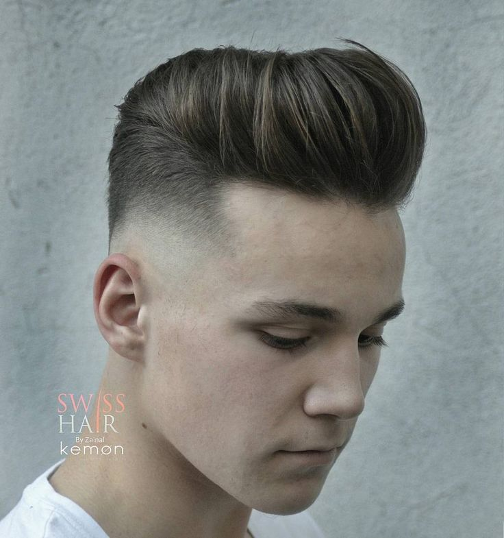 New Hairstyle 8 short hair with cropped fringe Hairstyles For Men With Thick Hair 2017