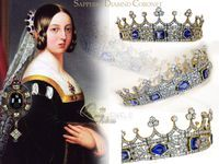 Queen Victoria's Sapphire and Diamond Coronet the story behind | Royal Jewel History