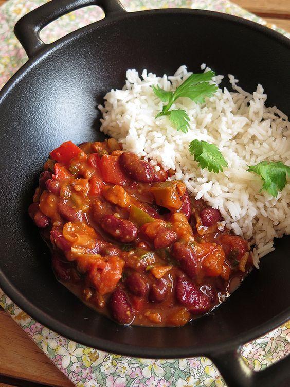 Chili végétarien 42 recettes vegetariennes plats complets cuisine us: