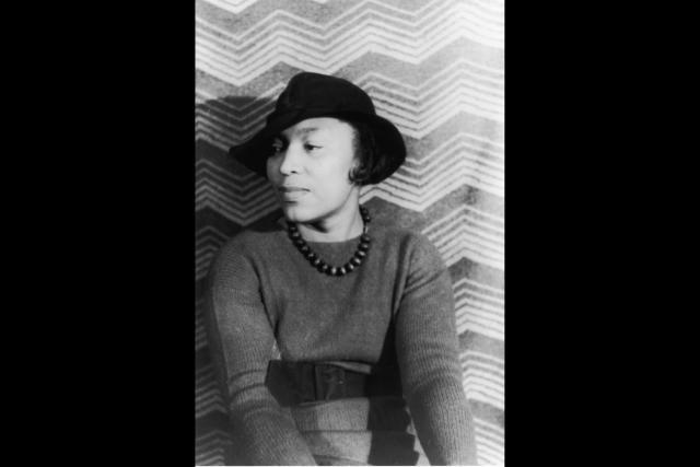 African American Women Dreaming in Color: The Harlem Renaissance: Zora Neale Hurston, photo portrait by Carl Van Vechten