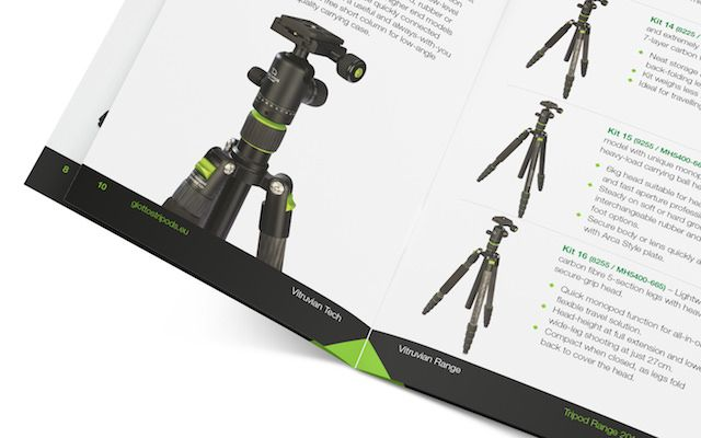 Giottos branding / print literature / print design / advertising / brochure by BakerWilcox