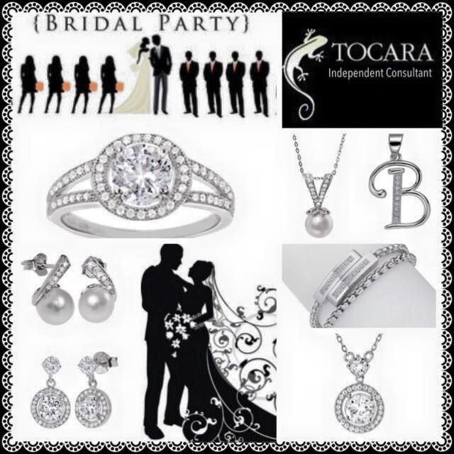 Tocara Wedding Bridal Party