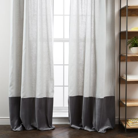 Window Curtains & Drapes | west elm