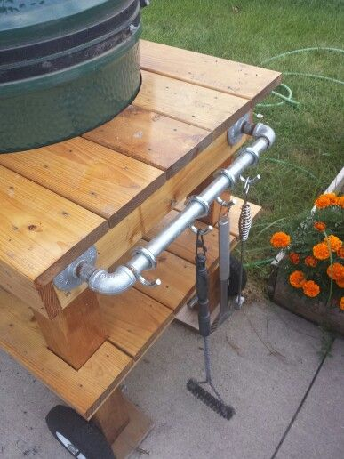 Big Green Egg Table Handle