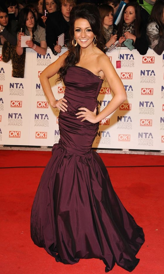 Michelle Keegan wore my designs