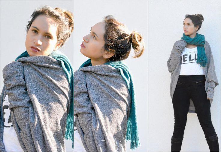 Titantina's Ideen: Cocoon Cardigan