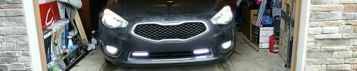 2014 KIA cadenza led DRL, FOG, HEADLIGHTS