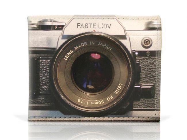 billetera cámara