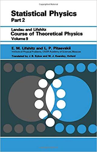Amazon Statistical Physics Theory Of The Condensed State Pt 2