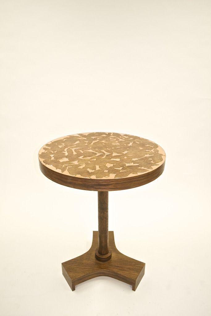 Copper Leaf Table. 2014. Emily Parsons.  Image credit: Arrun Stewart.