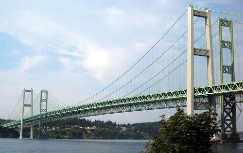 Mega Engenharia: Ponte Tacoma Narrows - Washington