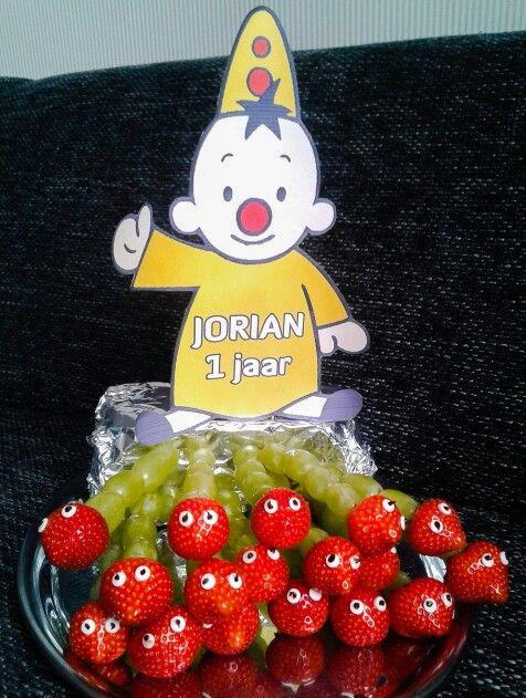 Traktatie verjaardag #bumba #fruitrupsjes