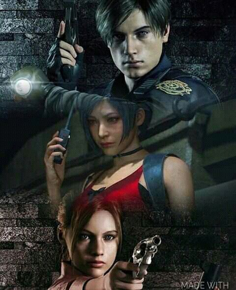 RE2R Leon,Claire and Ada | Resident Evil 2 | Resident evil game
