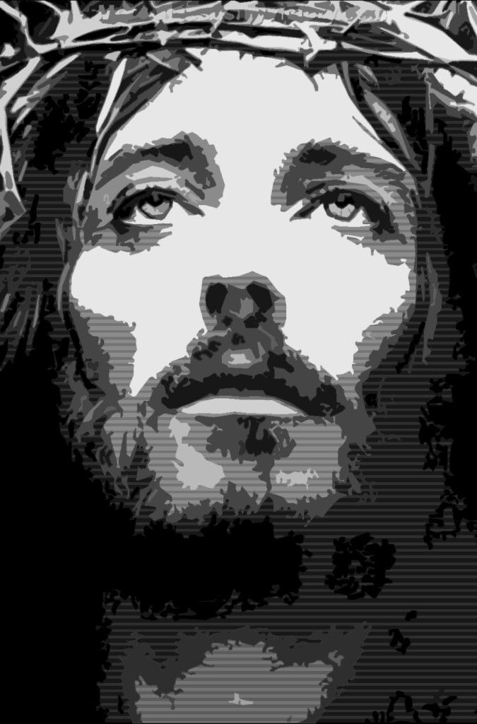 Picture of Jesus #art by Krishi Anne  We pray this so that the name of our Lord Jesus may be glorified in you, and you in him, according to the grace of our God and the Lord Jesus Christ.  2 Thessalonians 1:12