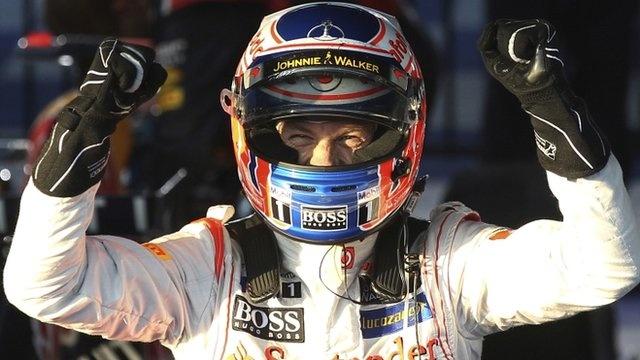 Jenson Button Wins Australian Grand Prix for McLaren. <3