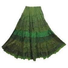 Peasant Skirt... Love this gradient!                                                      …