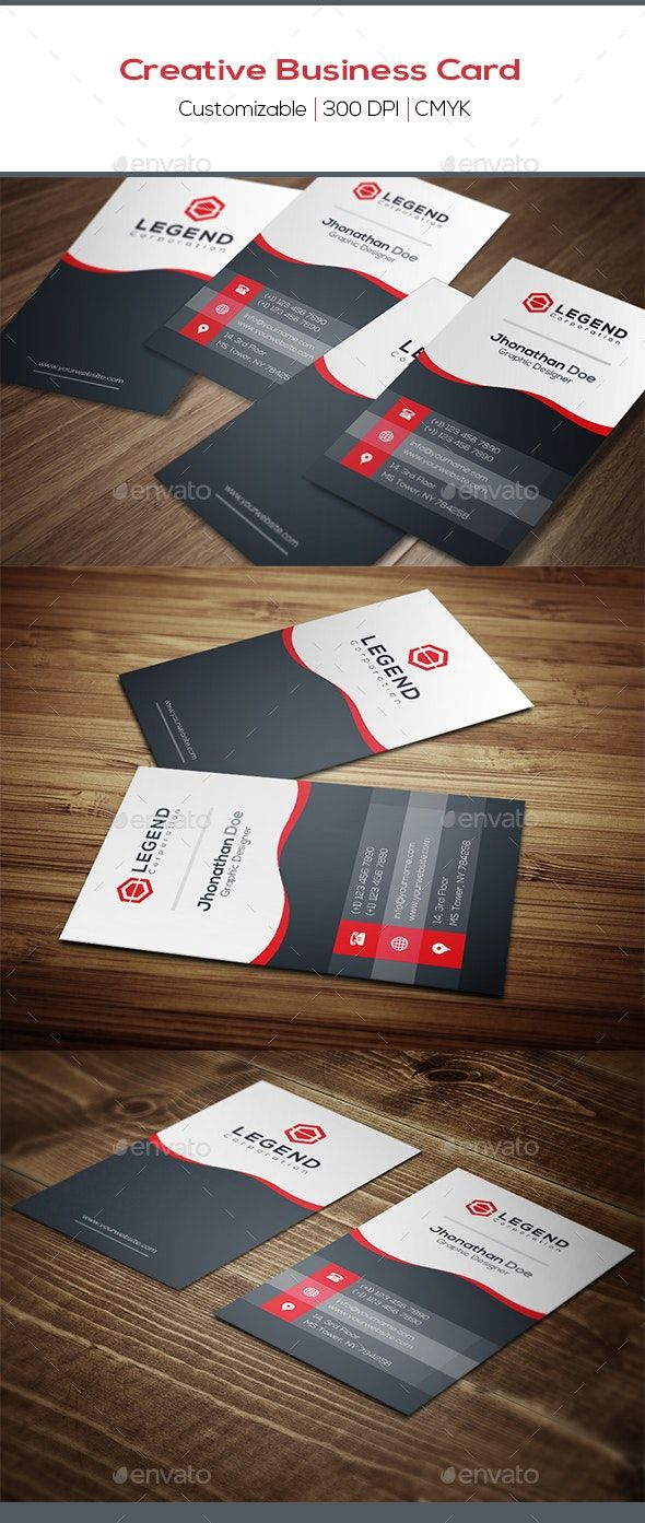 Creative Business Card Back Side