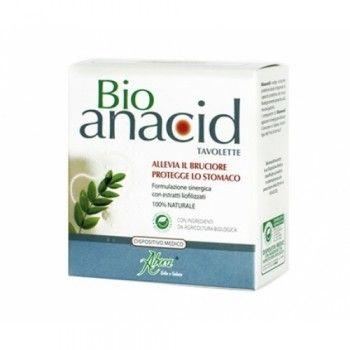 Aboca Bioanacid Protector Estómago es un protector de estómago en tabletas 100% natural. Cómpralo en http://www.parafarmacia-iglesias.com/aboca-bioanacid-protector-estomago-24-tabletas