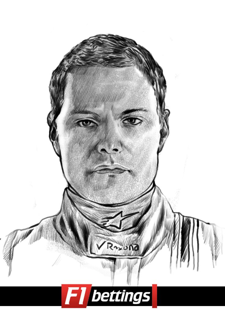 F1 driver Valtteri Bottas f1-bettings.com
