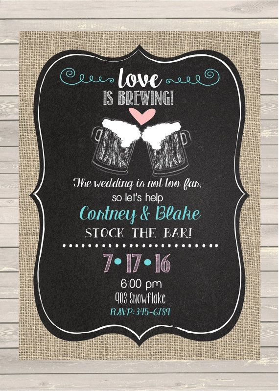 Couples Wedding Shower Invitations for luxury invitation example