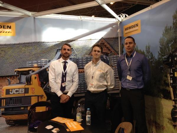 The Hewden team at the Solar Event at the NEC Birmingham #solarenergy #solar #NEC