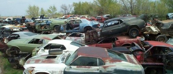 Classic Car Junk Yards Oregon Photos World S Largest Ford