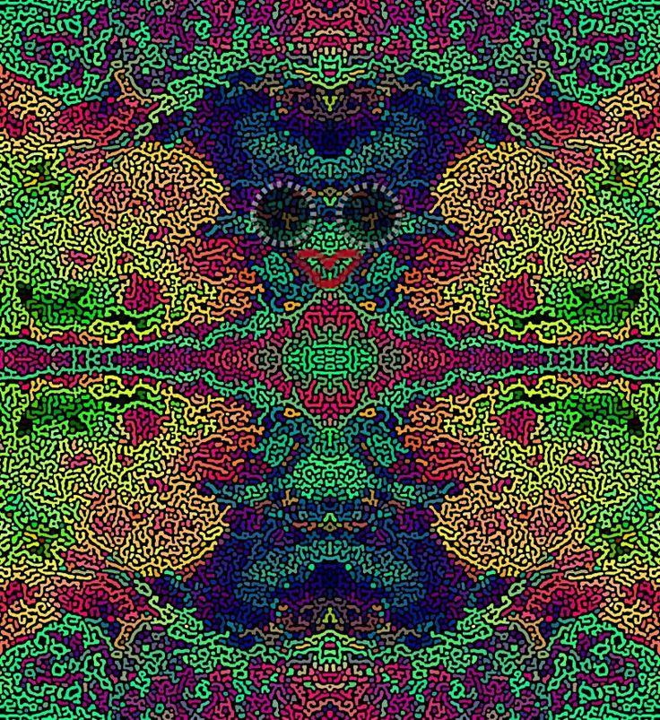 #marciano con brazos abiertos. #personaje #abstracto #fantastico de #cienciaficcion realizada a traves de la #fotomanipulacion con #gimp. Ver más en: www.librecreacion.net www.sirenasinmar.blogspot.com www.facebook.com/SugarherArts