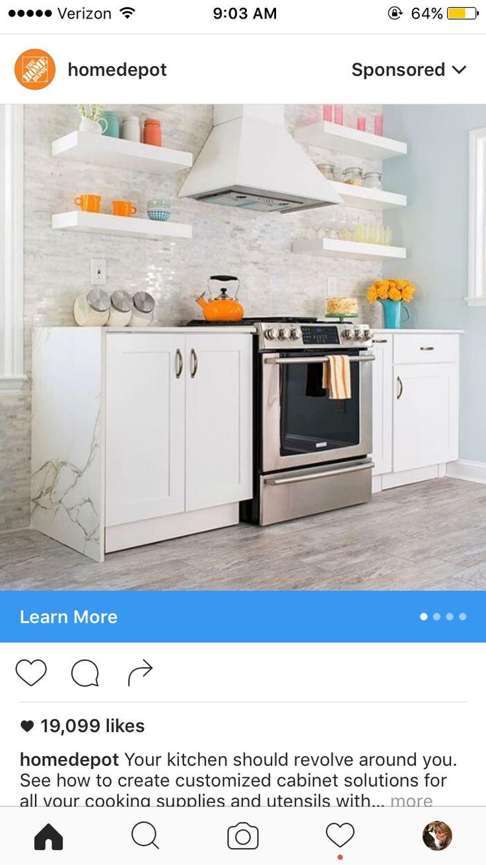 14 best kitchen makeover images on Pinterest | Kitchen ideas, Dream ...