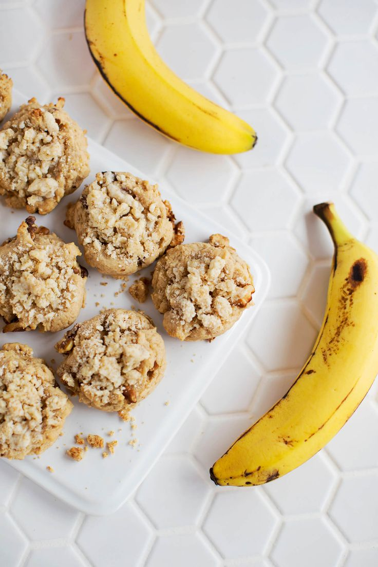 Banana Bread Muffin Cookies
