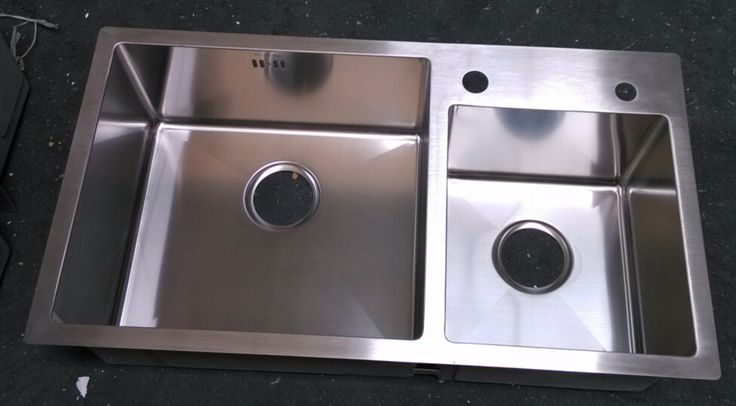 topmount double bowl stainless steel kitchen sink