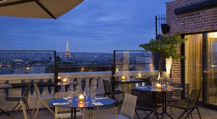 La terrasse de rêve du Terrass'' Hôtel Montmartre by MH à Paris (Ile-de-France)