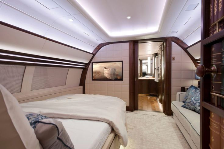 This Private Jet Has All The Amenities Of Your Gentleman's Club.