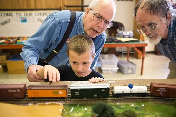 A phone call for help turned the Carter Lake Model Railroad Club for kids into a community project for three Westside DECA students.