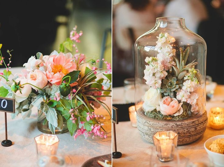 Left: for round dinner tables Right: For guest book table
