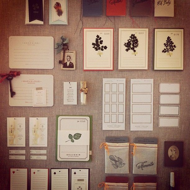 Beautiful...seed house stationers #stationery #cards