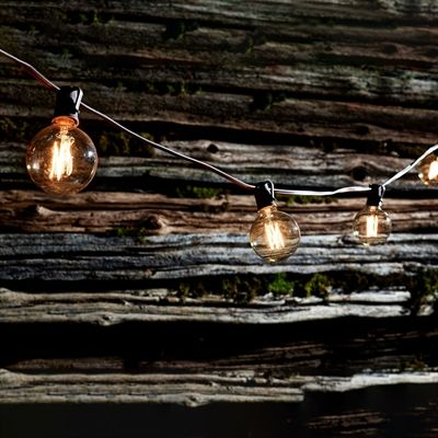 Everlasting Glow 2261980LC 10-Count Looped Filament G19 Bulb Patio Light Set