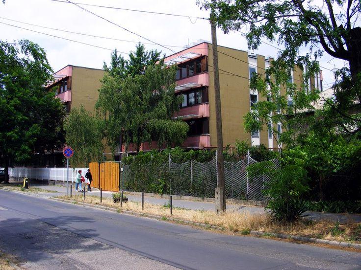4.  Csepeli kórház a Déli utcáról nézve