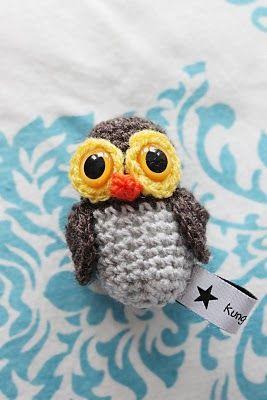 Amigurumi Uggla : 130 best images about Crochet Amigurumi - Owl on Pinterest ...