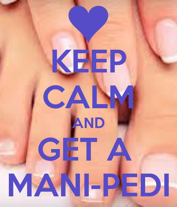 KEEP CALM AND GET A MANI-PEDI - KEEP CALM AND CARRY ON Image Generator