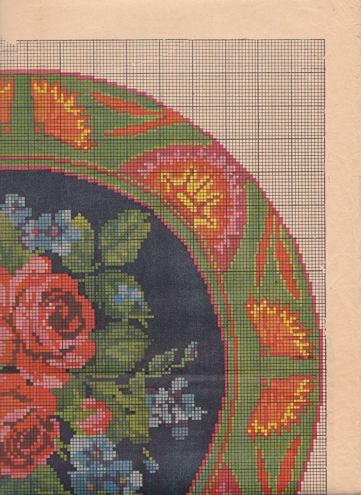 64-Круглая подушка,1959 0002